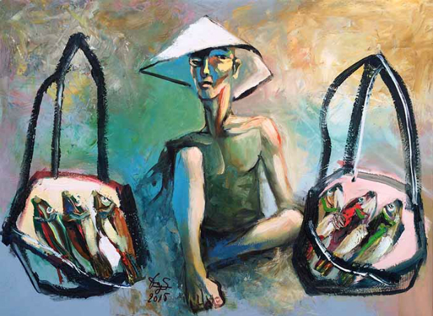Oil Painting, Trinh Dinh Dung