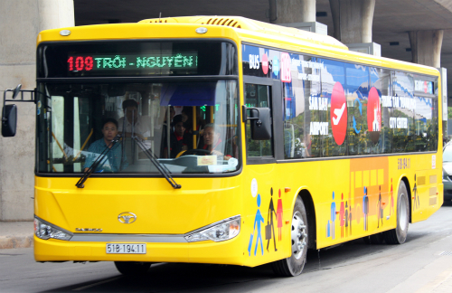 first-class-airport-buses-launched-in-ho-chi-minh-city