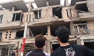 Aftermath of Hanoi blast