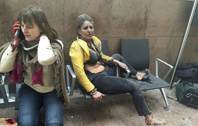Woman in Brussels blast photo is Indian flight attendant
