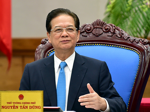 Prime Minister Dung made a farewell speech in his last government meeting