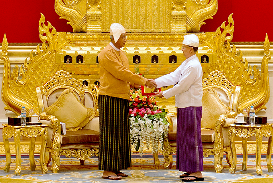 tears-flow-as-myanmar-swears-in-first-president-with-no-army-ties-in-more-than-50-years