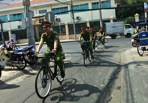 hcm-city-police-to-roll-out-bike-patrols-1