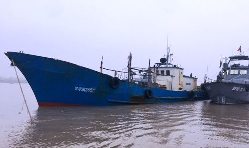 Vietnam seizes trespassing Chinese vessel near Tonkin Gulf
