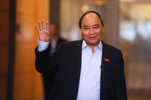 Vietnam's newly elected Nguyen Xuan Phuc. Photo: Giang Huy