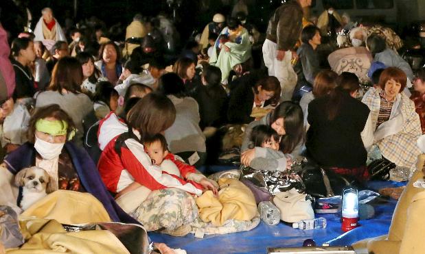 Strong quake in southwestern Japan kills nine, topples homes