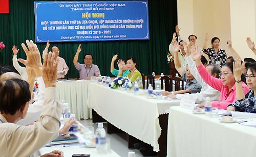 Four parliamentary self-nominees reach final list in HCM City