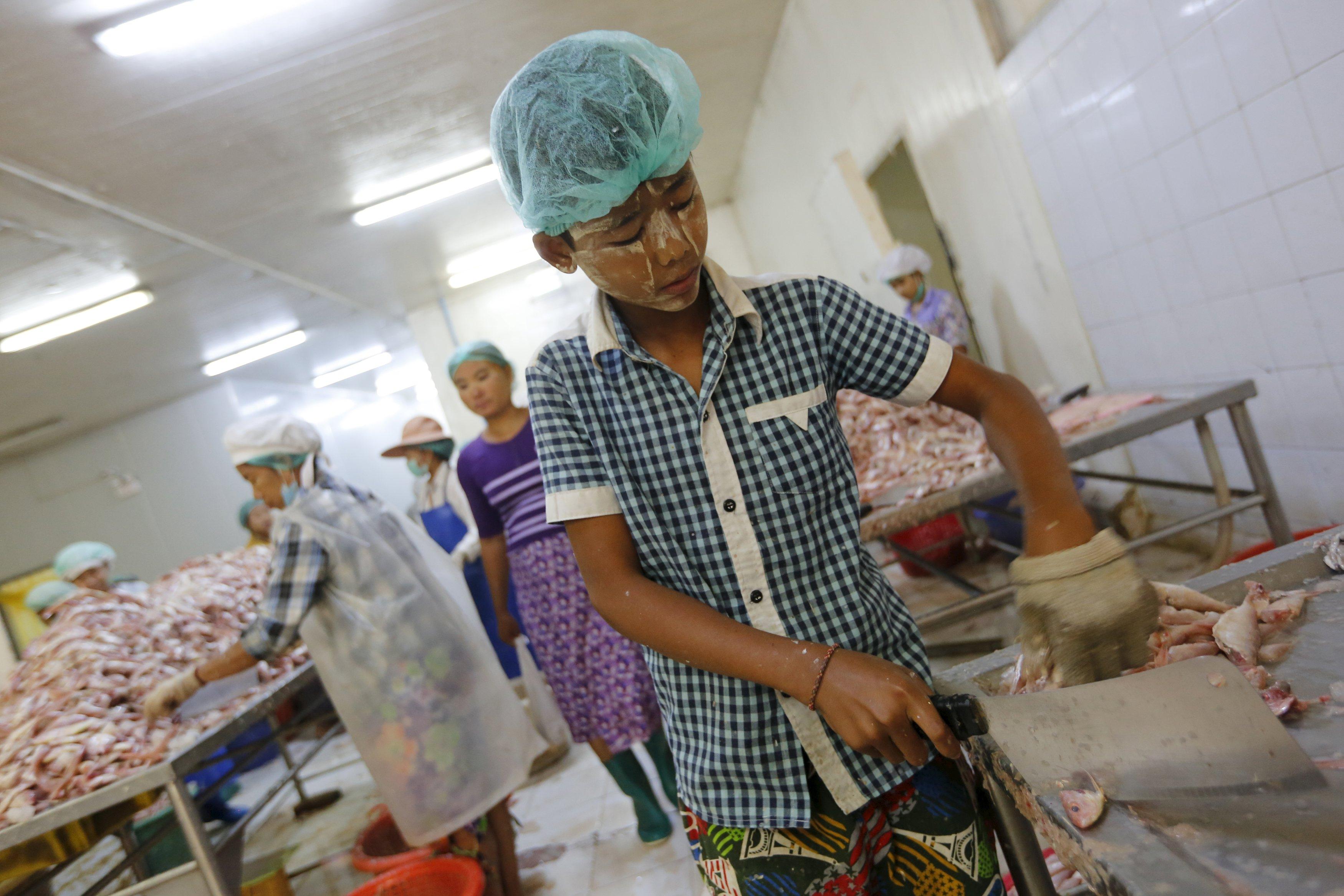 As economy booms, children toil in Myanmar