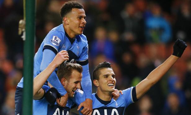 Kane's killer instinct keeps Tottenham on title prowl