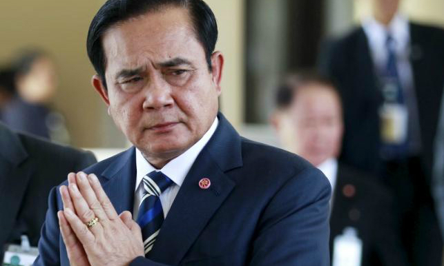 Thai junta chief accuses former PM Thaksin of stirring protests