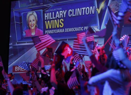 Trump, Clinton register big wins in Northeast states