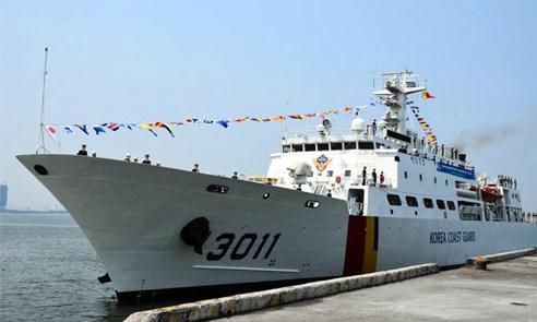 South Korean coast guard to share anti-piracy, environmental experience