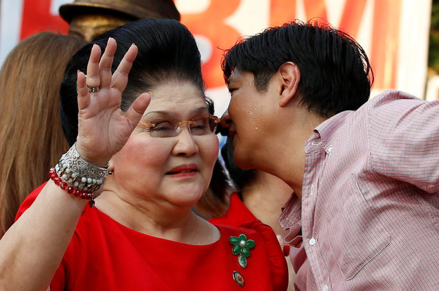 'Bongbong', the son, leads Marcos revival in the Philippines