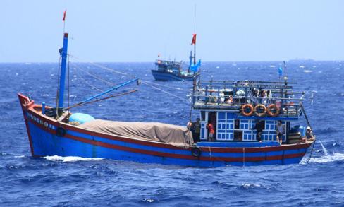 Unidentified ship sinks Vietnamese fishing boat in Hoang Sa archipelago