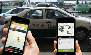 Uber and Grab drivers struggle to pick up customers
