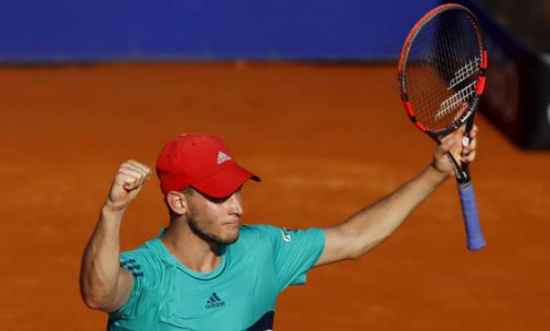 Thiem's up for beaten Federer in Rome