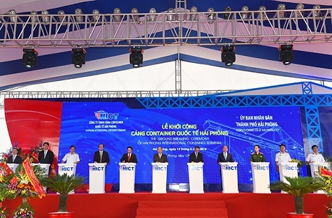Construction of northern first deep-water seaport component kicked off
