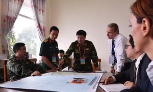 Vietnam, U.S. hold civil-military exercise ahead of Obama visit