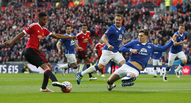 Soccer-Rashford selection turns spotlight on Rooney