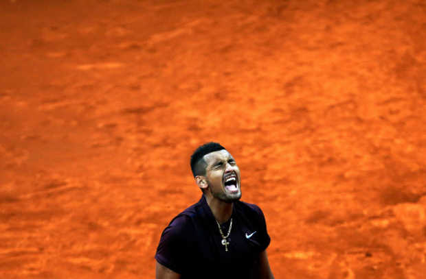 Nick Kyrgios of Australia. Photo by Reuters/Susana Vera
