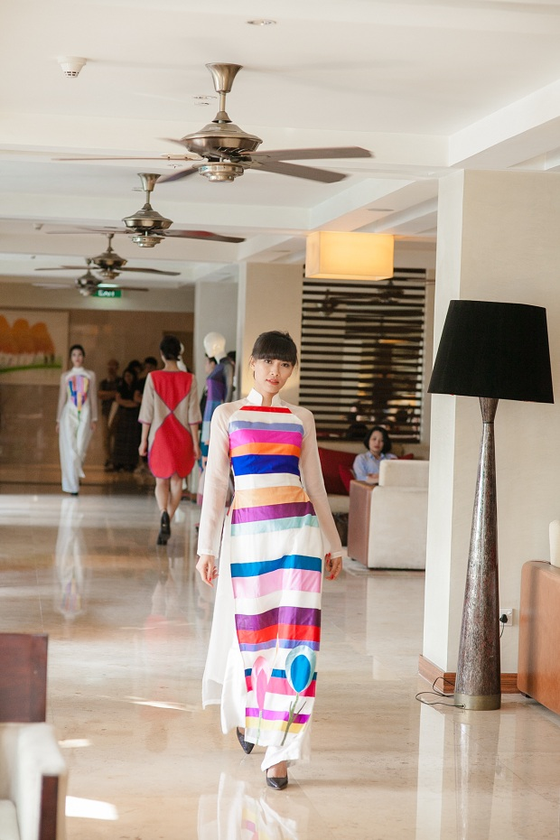 'Ao dai' is still the fertile land for designers.