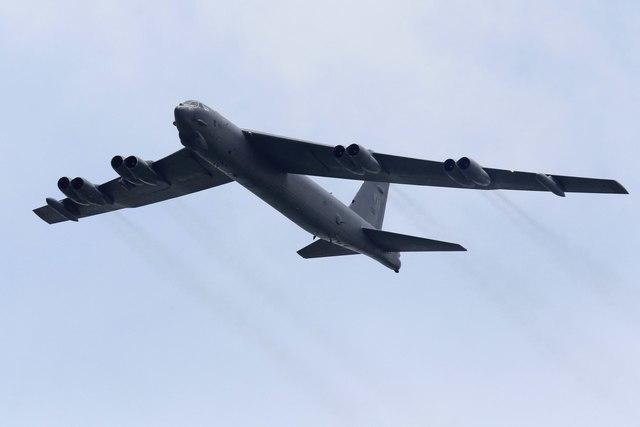 U.S. Air Force bomber crashes in Guam