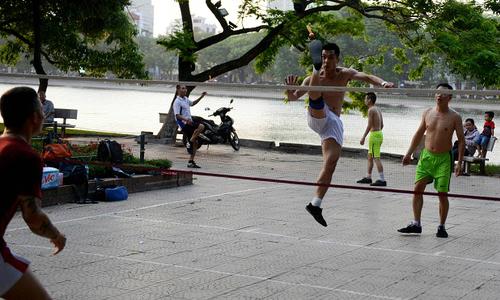 To make sense of Hanoi, go to its parks