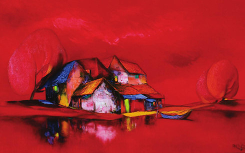 'By the red river' by Dao Hai Phong. Photo by the Voice of Vietnam
