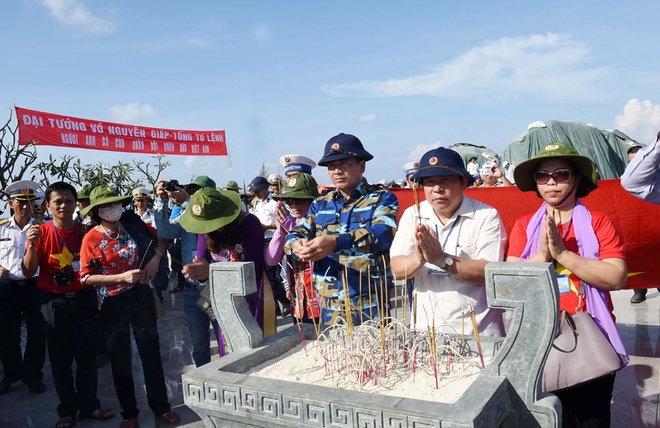 This will be a place to uphold the good tradition and strong will among the people and armed forces during the course of construction and defense of the nation, said Rear Admiral Ngo Sy Quyet at the opening ceremony.