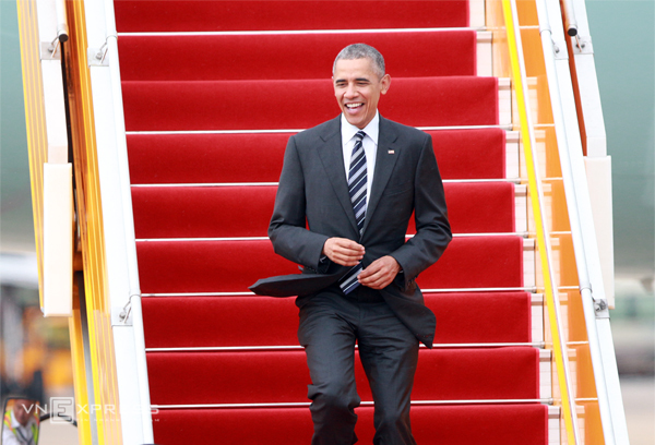 Obama's schedule for the last day in Vietnam
