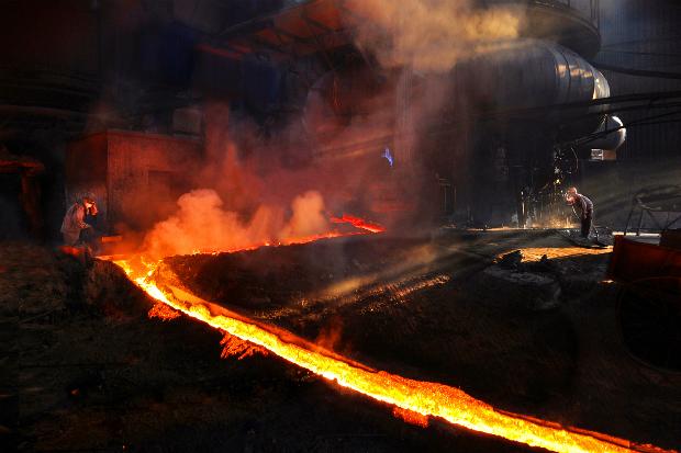 Iron producing in Vietnam. Photo by Ngoc Nhu Hai