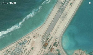 "China to ""pressure"" U.S. on maritime issues"