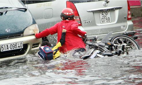 HCMC initiates flood control project worth $446 mln