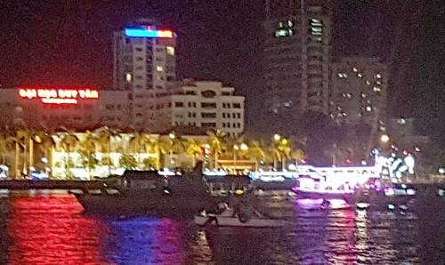A cruise ship and police search for the victims.