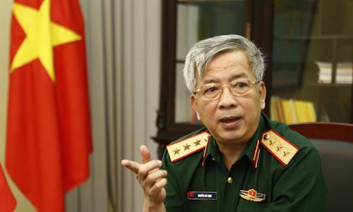 Senior Lieutenant GeneralNguyen Chi Vinh. Photo by VnExpress/Nhat Quang