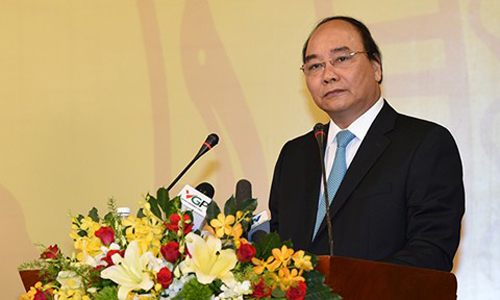 Prime Minister Nguyen Xuan Phuc. Photo by VnExpress