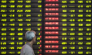 China stocks dip but Hong Kong gains as US rate hike fears ease