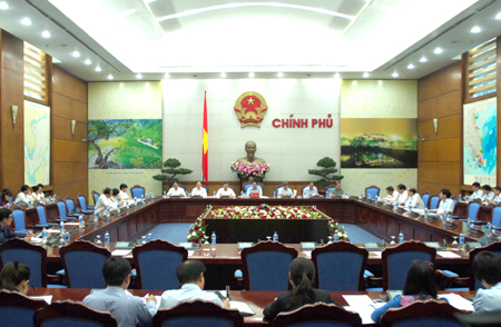 Overview of the meeting. Photo by VGP/Nguyen Hoang