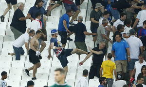 UEFA says could disqualify England, Russia from Euro 2016 if more violence
