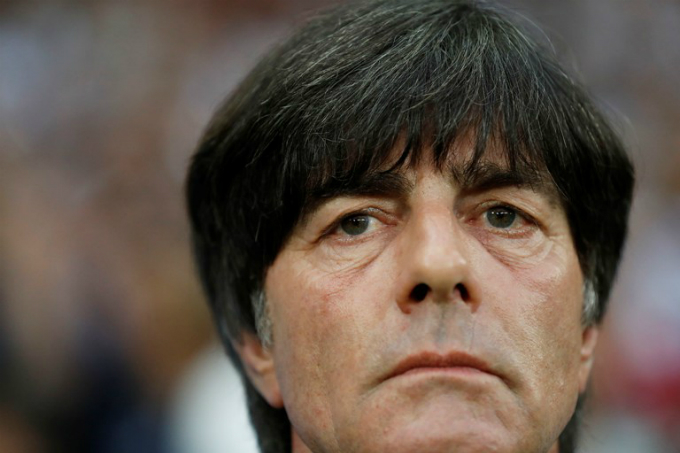 Germany head coach Joachim Low. Photo by Reuters/Carl Recine Livepic