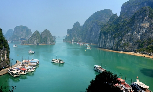 Sorry tourists, no more deck view of Ha Long Bay
