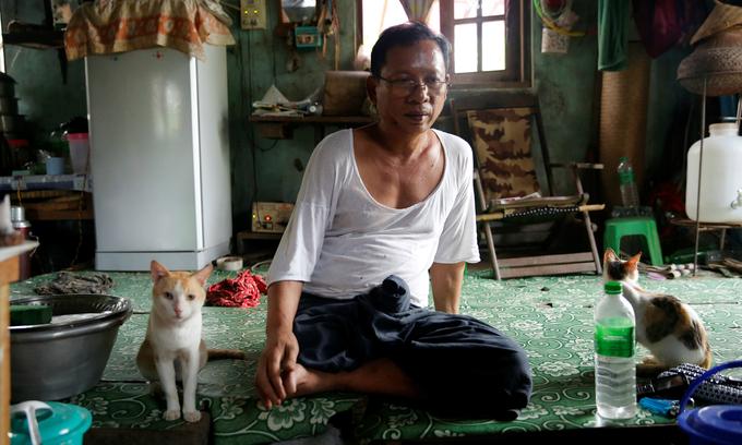 As Myanmar emerges from junta's shadow, war veterans left behind
