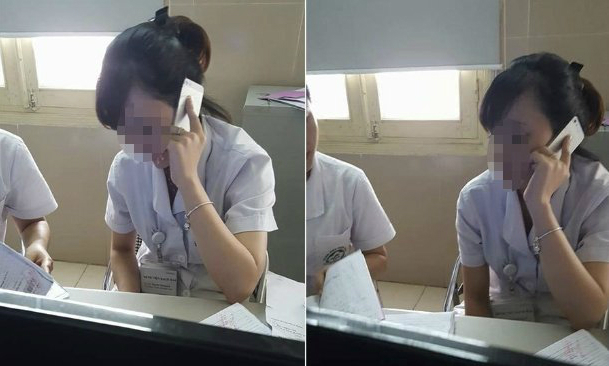 Vietnamese hospital staff accused of putting phone call ahead of patients