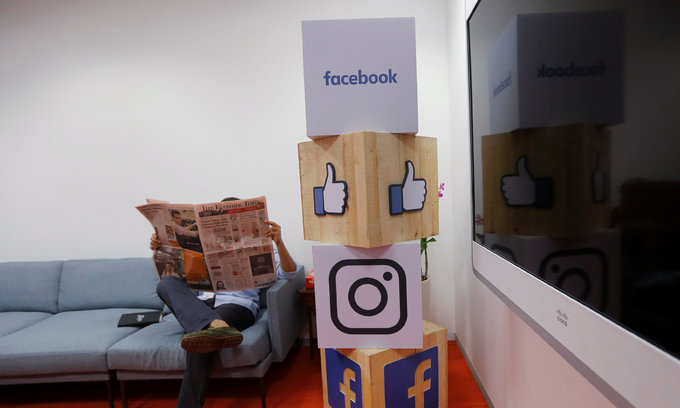 More than half online users get news from Facebook, YouTube and Twitter