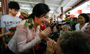Former Thai PM Yingluck wows fans but remains divisive figure