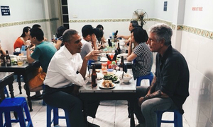 Obama's 'bun cha' goes official