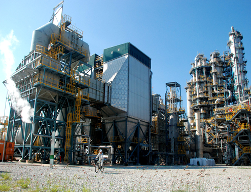 Part of Vietnam's Dung Quat refinery in Quang Ngai. Photo by VnExpress/Tri Tin