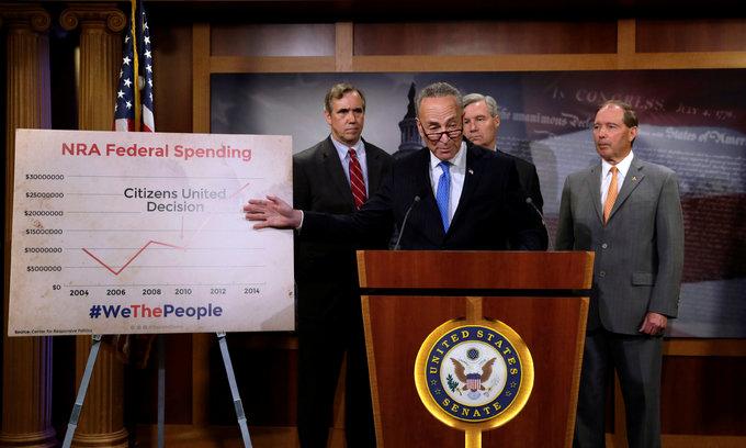 Latest gun control bid falters in Congress, Democrat sit-in ends