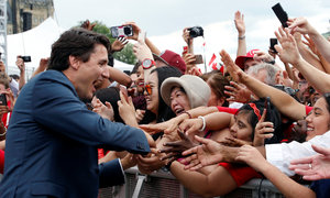 Trudeau says Canada exploring gender-neutral identity cards