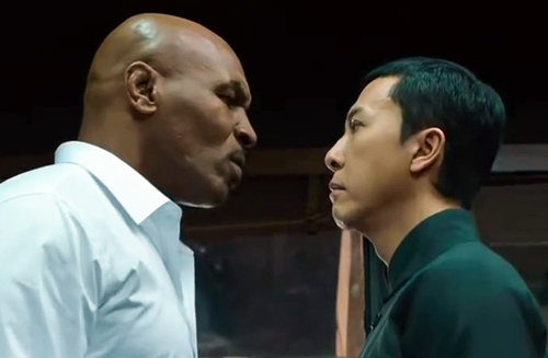 Mike Tyson to star opposite Donnie Yen in  Ip Man 3  .